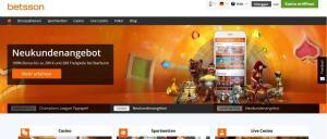 Betsson online Casino Test