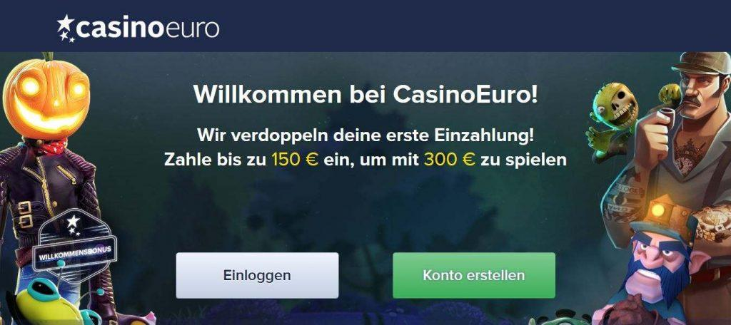 CasinoEuro Bonus Info