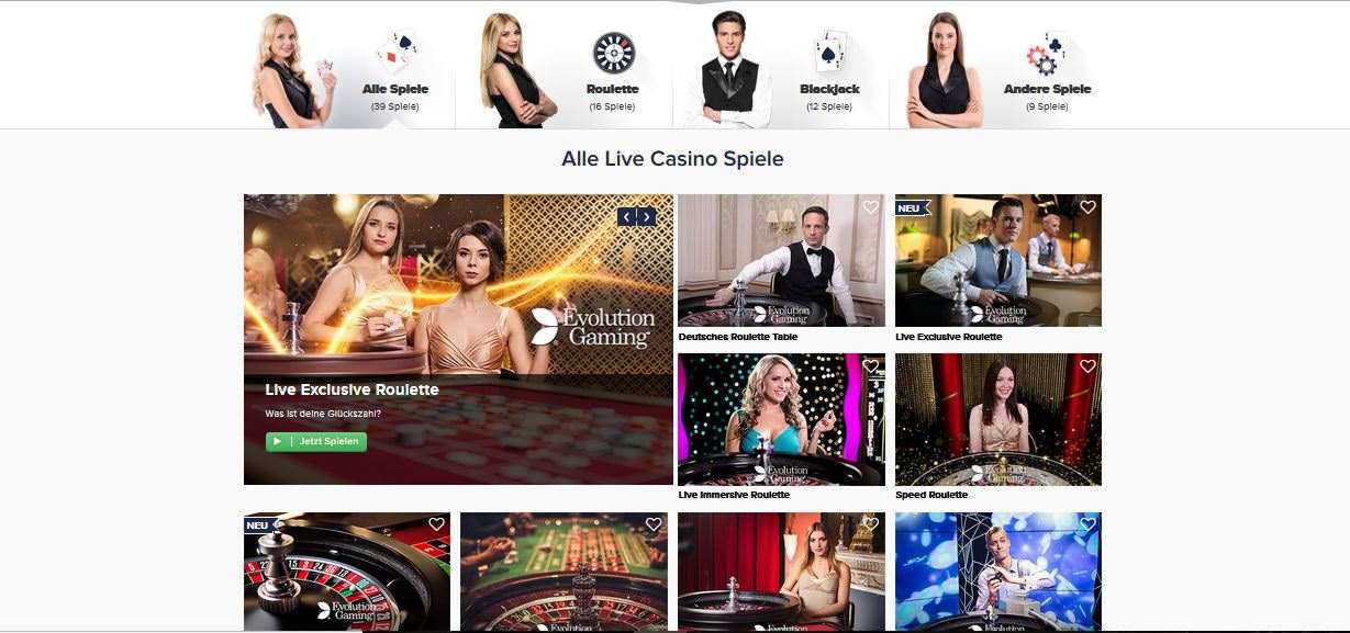 CasinoEuro Live Casino