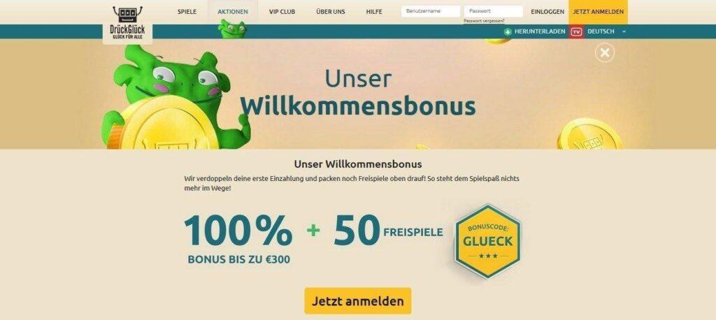 DrückGlück Bonus