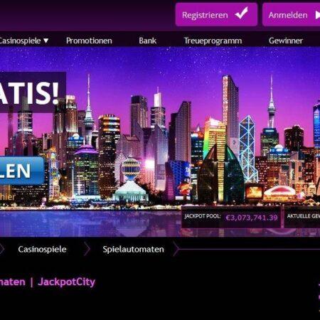 Jackpot City Casino Gewinn von 32.000 Euro