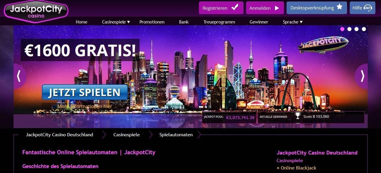 Jackpot City Online