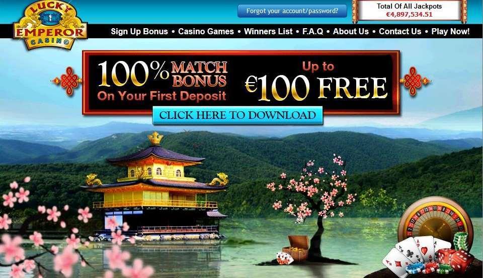 LuckyEmperor Casino Gewinn von 20.000 Dollar