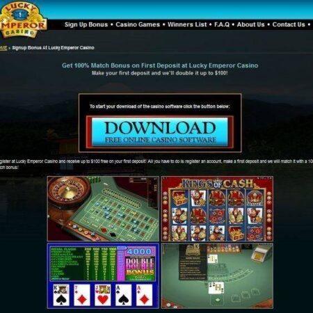 Erneuter LuckyEmperor Gewinn von $57.000