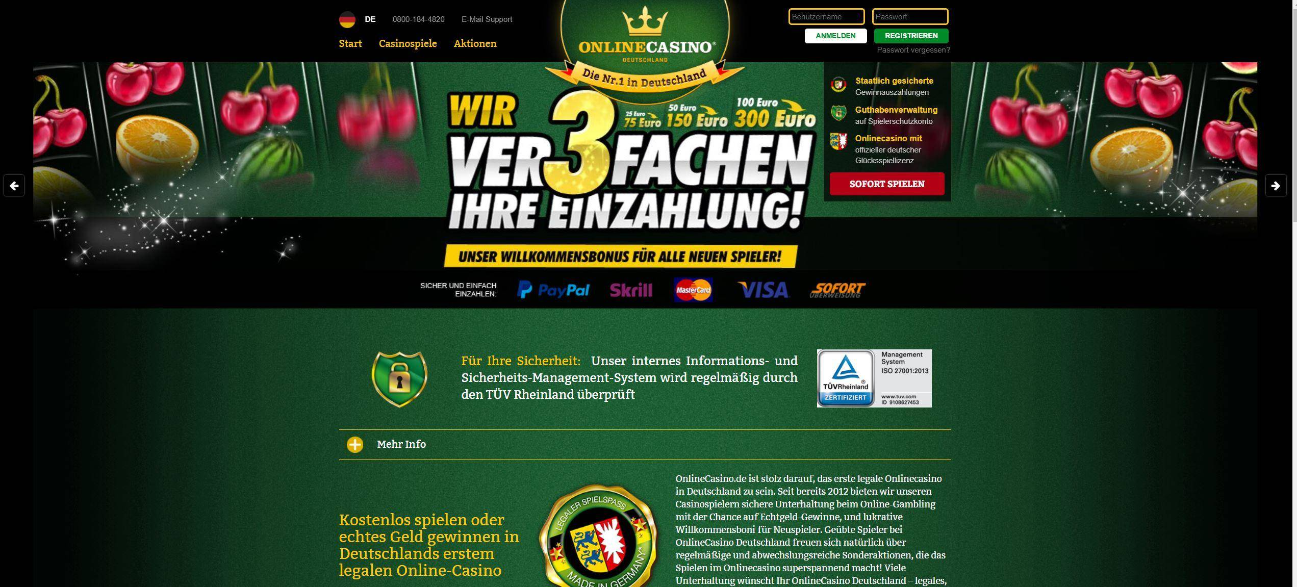online casino legal deutschland