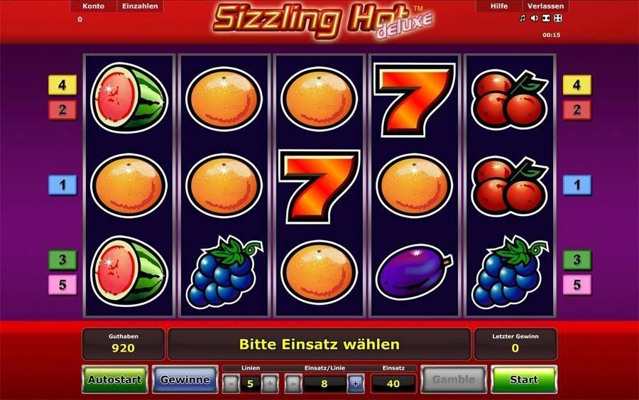 hot sizzling kostenlos spielen