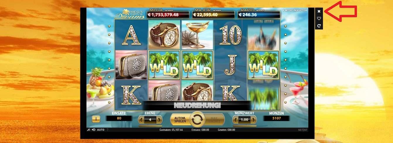 Spiel verlassen CasinoEuro