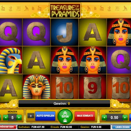 Treasure Of The Pyramids kostenlos spielen!