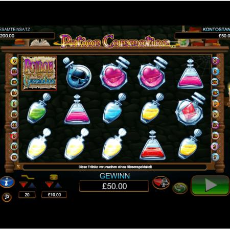 Potion Commotion – Der zauberhafte Videospielautomat