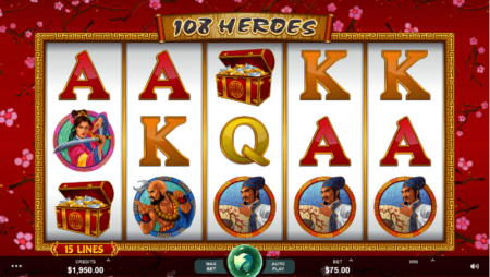 108 Heroes – ein Slot mit Frei- und Bonusspielen!