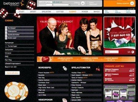 betsson casino gewinn