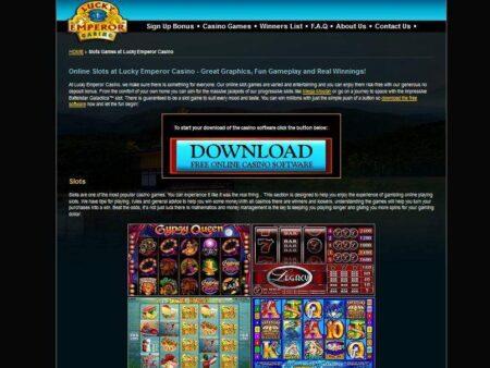 Lucky Emperor Casino Gewinn von 26.000$
