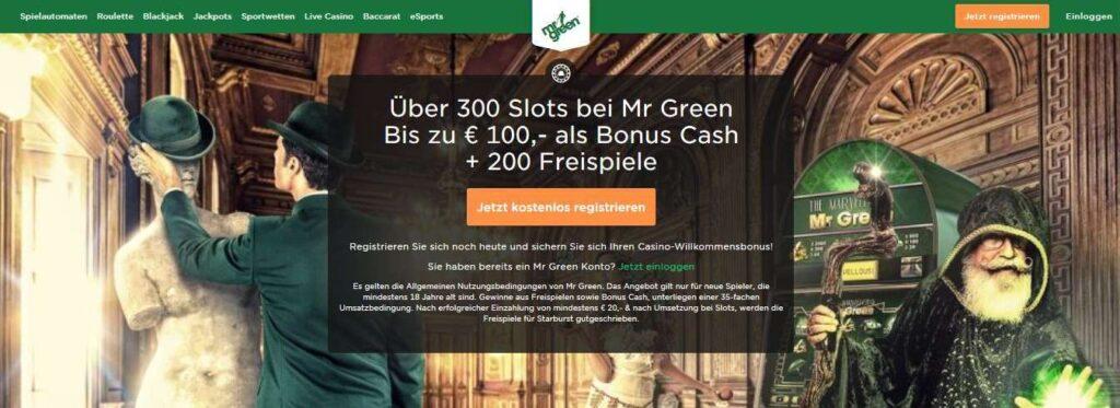 mrgreen bonus