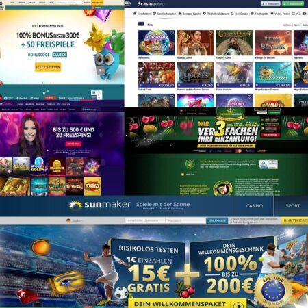 Diese online Casinos sind zu empfehlen