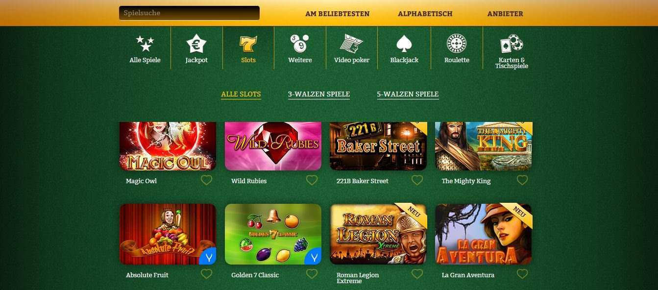 deutsch online casino