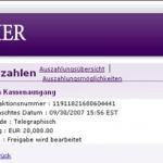 partycasino gewinn1 - Mein erster grosser Gewinn - 100.000€ im Partycasino