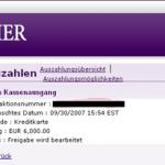 partycasino gewinn2 - Mein erster grosser Gewinn - 100.000€ im Partycasino