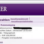 partycasino gewinn3 - Mein erster grosser Gewinn - 100.000€ im Partycasino