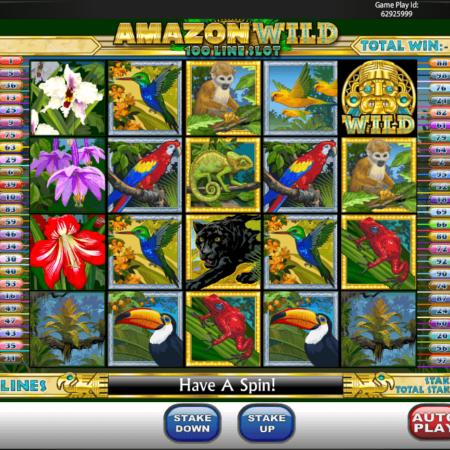 Amazon Wild mit 100 Gewinnlinien!