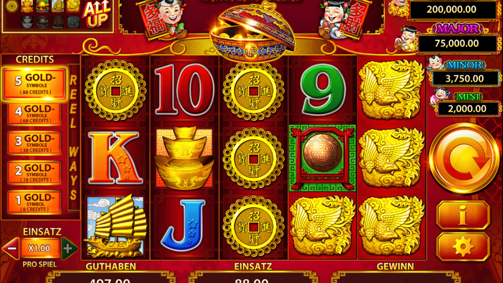88 Fortunes – der Slot mit dem Mega-Jackpot!