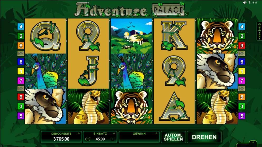 Adventure Palace HD – ein Abenteuer im Dschungel!