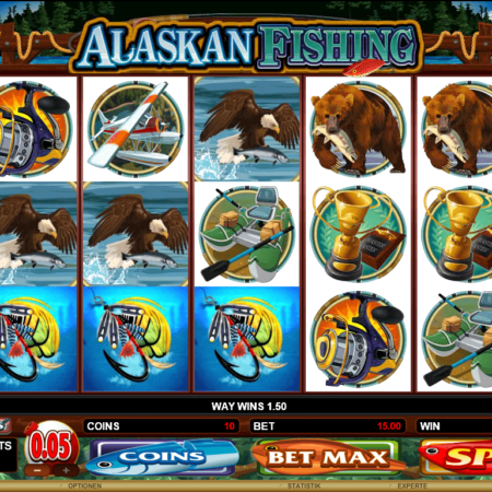 Alaskan Fishing Mobile – auch auf dem Handy spielbar!