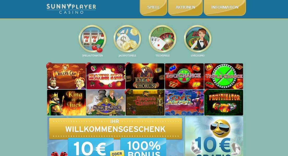 casino sunnyplayer