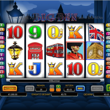 Big Ben – zahlreiche Features!