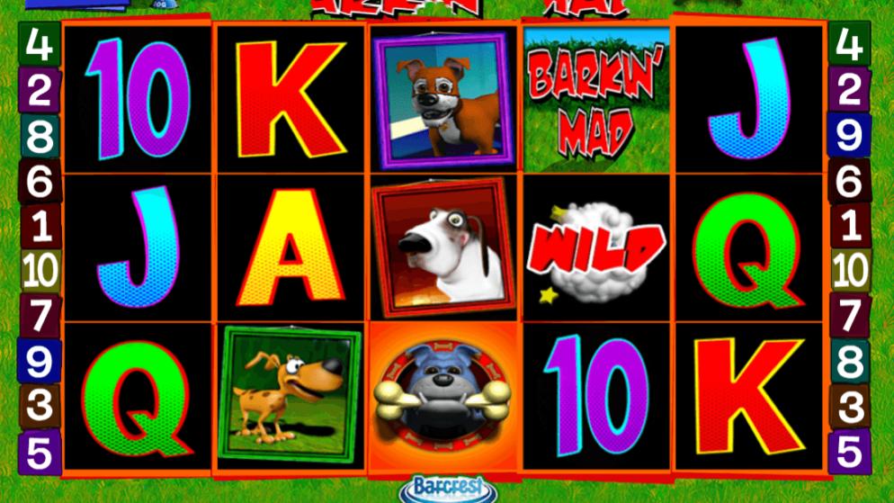 Barking Mad – Freispiele, Joker und Scatter!