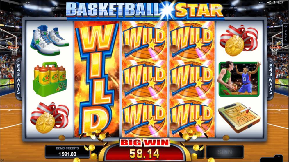 Basketball Star – der sportliche Spielautomat