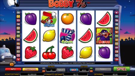 Bobby7s – Freispiele mit Multiplikator x2!