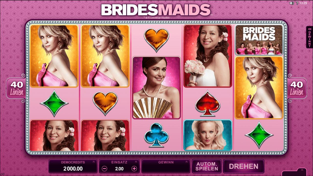 Bridesmaids – mit mehreren Freispielen!