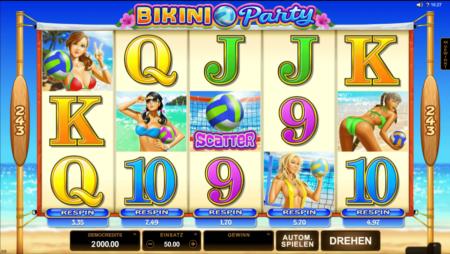 Bikini Party – einzelne Walzen erneut drehbar!