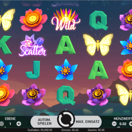 Butterfly Staxx – Free-Spins und Re-Spins
