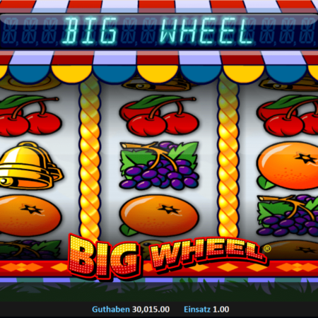Big Wheel – klassischer Drei-Walzen-Spielautomat