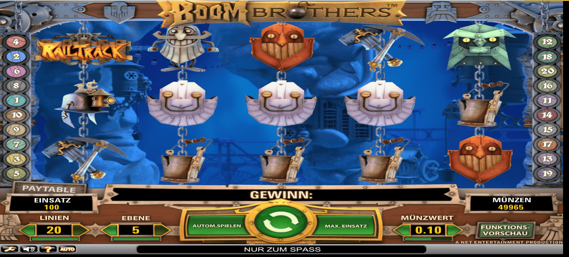 Boom Brothers Online Spielautomat