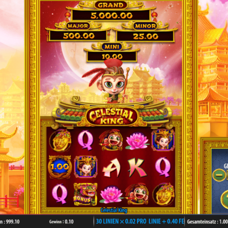 Gewinne den Jackpot bei – Celestial King!