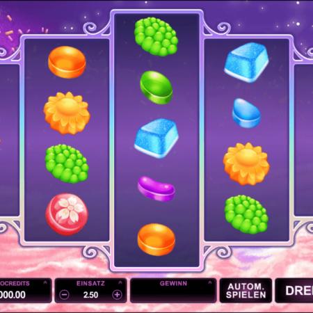 Candy Dreams – Frei- und Bonusspiele auf 720 Gewinnlinien!
