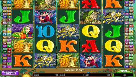 Cashapillar – 100 Gewinnlinien