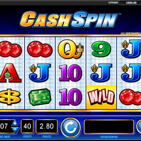 Cash Spin mit 243 Gewinnmöglichkeiten