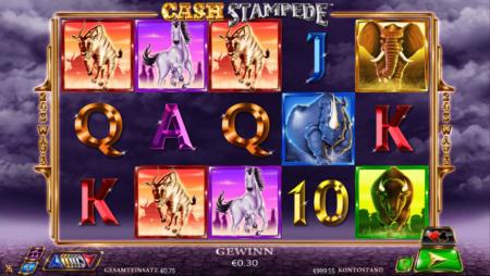 Cash Stampede – Re-Spins und Freispiele auf 243 Gewinnlinien
