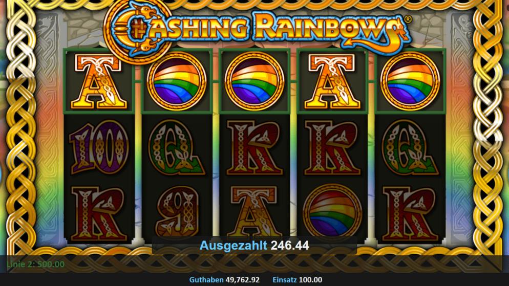 Chasing Rainbows – Freispiele mit fixierten Jokern