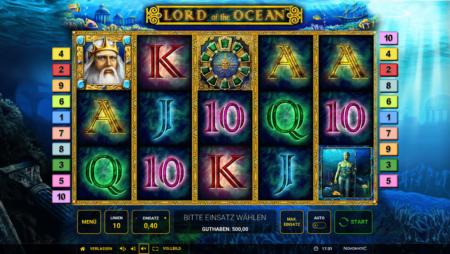 Lord of the Ocean – Freispiele mit einem Bonus-Symbol