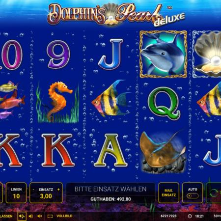 Dolphin's Pearl Deluxe kostenlos spielen – Freispiele mit x3 Multiplikator!