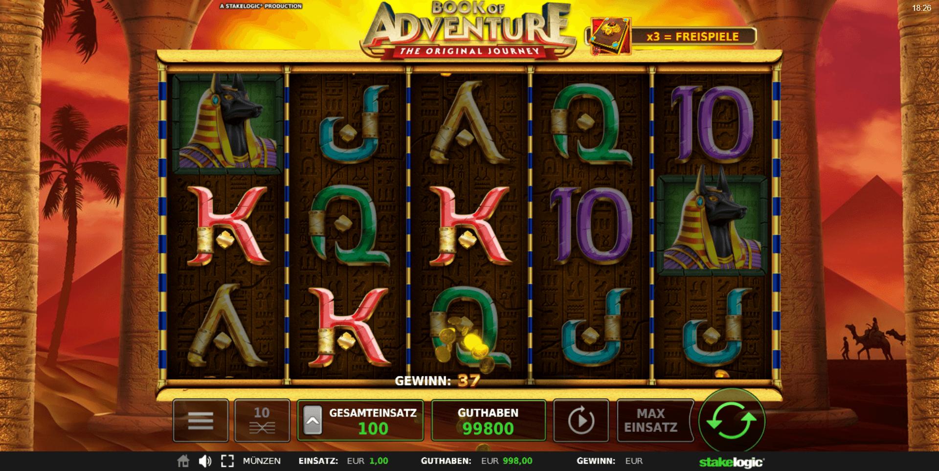 Book of Adventure online