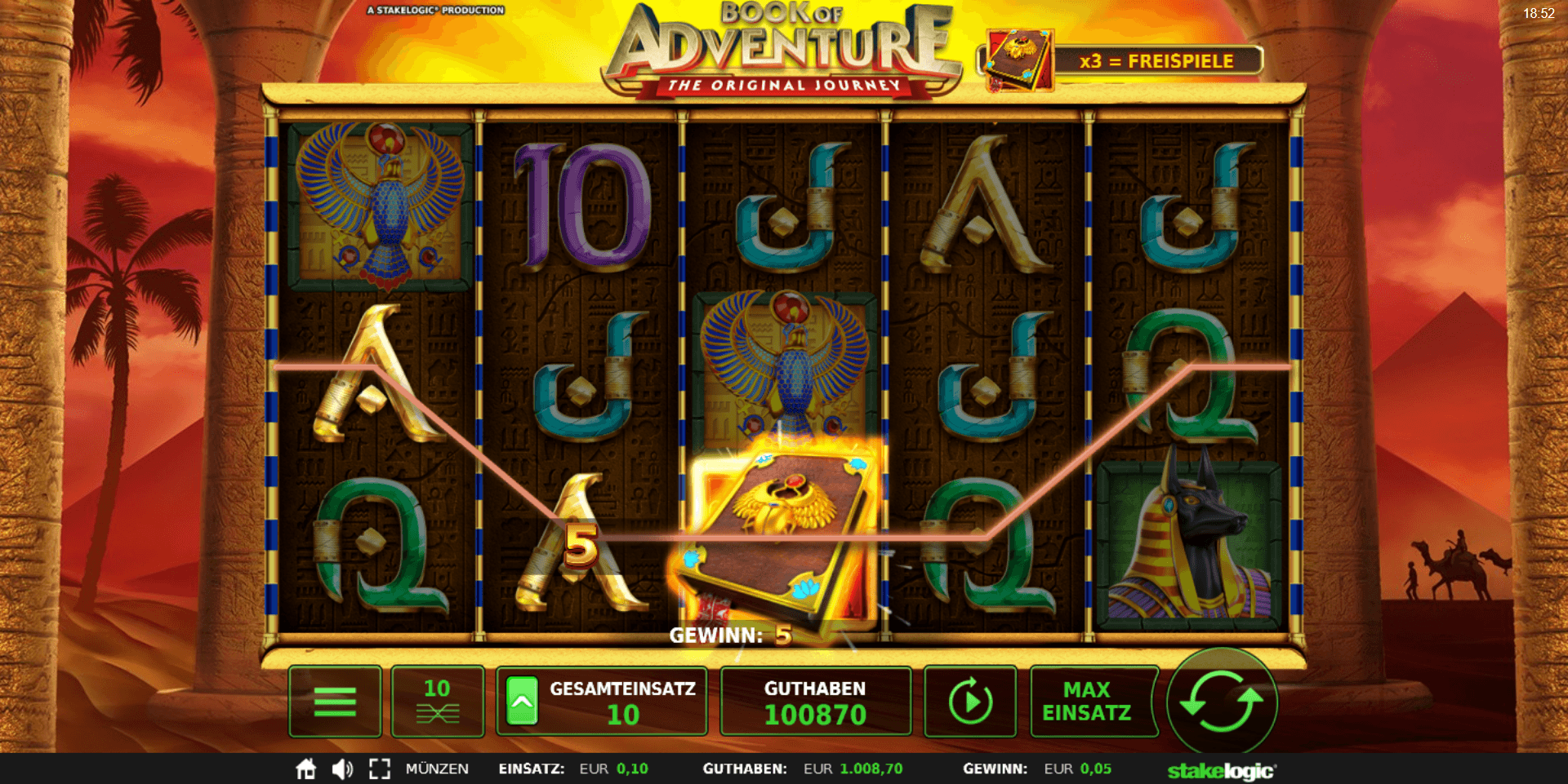 Book of Adventure online