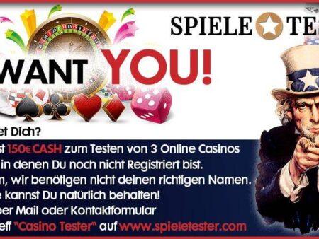 Мы ищем тестеров онлайн-казино!