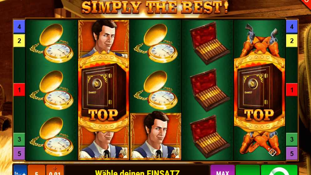 Simply the best – keine Features