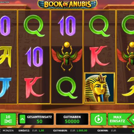 Book of Anubis – Freispiele mit expandierendem Symbol
