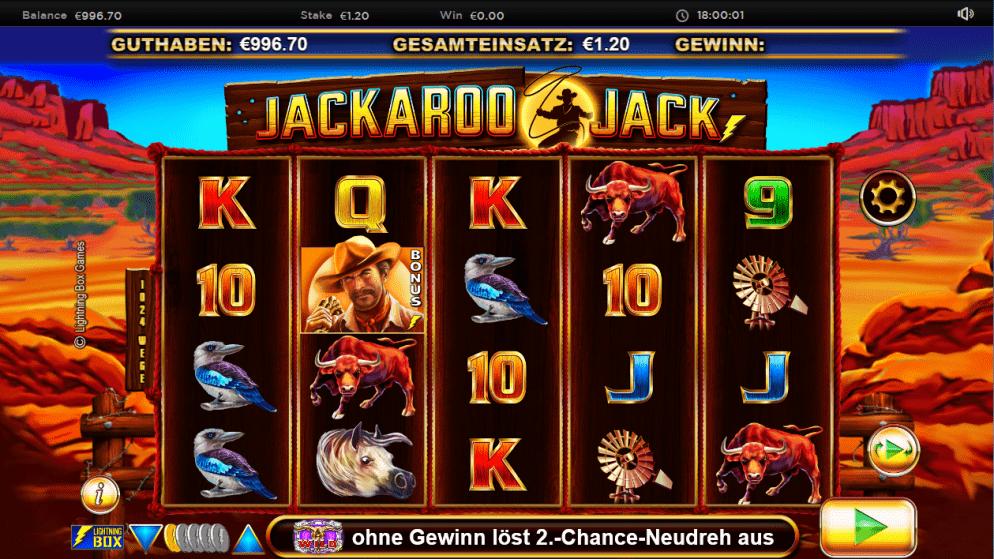 Jackaroo Jack – vielfältige Features